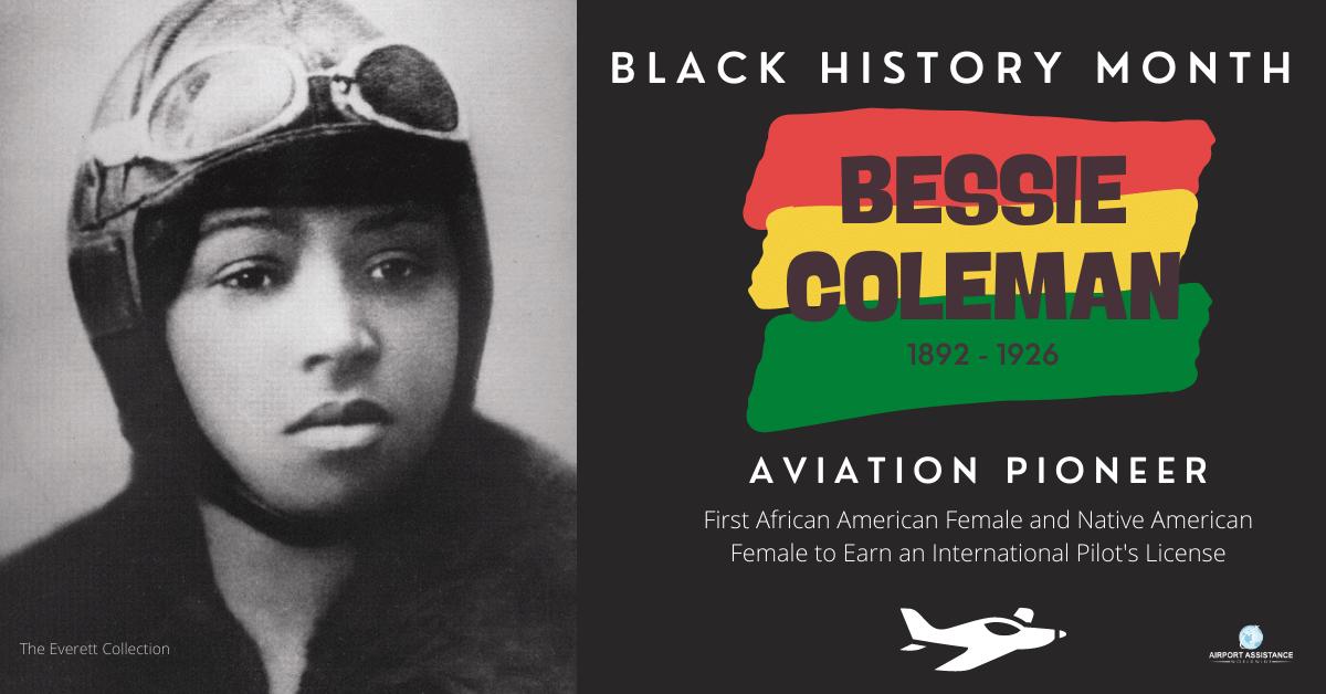 Black History Month:  Featuring Bessie Coleman